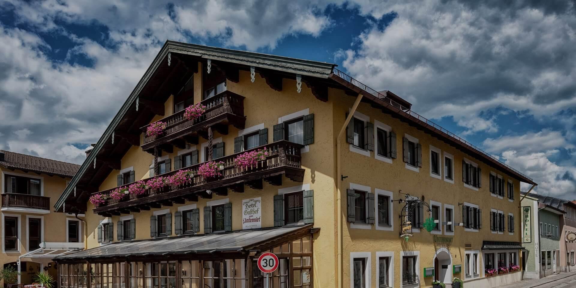 Hotel Gasthof Zum Unterwirt In Waging Am See